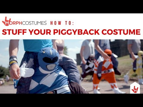 HOW TO: Stuff a Piggyback Costume | MorphCostumes