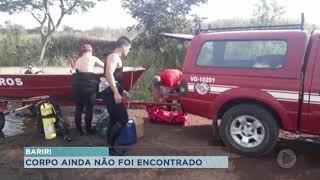 Mulher de Bariri está desaparecida após se afogar no rio Tietê