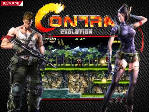 Contra Evolution OST - Base (Arcade Version)