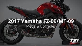 10. STREET: 2017+ Yamaha FZ-09 Mods & Upgrades