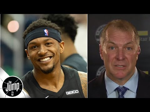 Video: Bradley Beal will get a max offer - New Wizards GM makes it official | The Jump