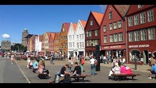 Bergen Norway  city photos gallery : Bergen, Norway in 4K (UHD)