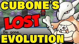Cubones Lost Evolution Changes EVERYTHING About The History Of Pokemon! (Beta Pokemon Trivia) by Verlisify