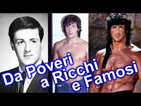 10 persone povere, diventate ricche e famose