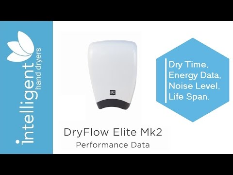 Calculate the costs for this dryer Calculate the life expectancy for this  dryer National BIM Library Object Specification Page. Dryflow Elite MK 2 Hand Dryer  White    DF05M2W