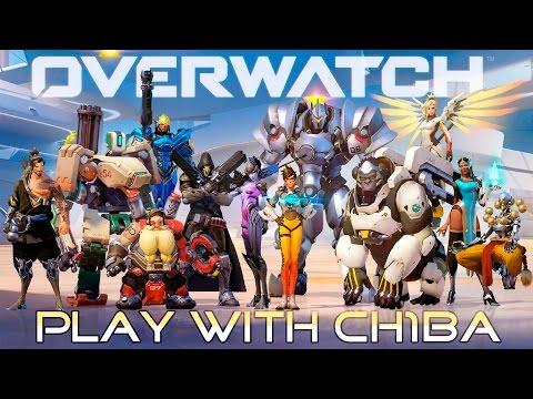Play with Ch1ba - Overwatch - Первые неуклюжие шаги. Тренировка.
