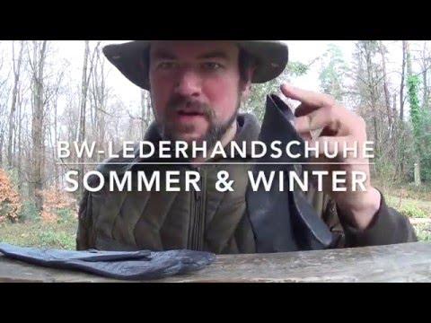 BW-Lederhandschuhe (Sommer- und Winter-Ausführung)