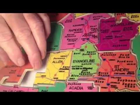 Hooper Graphics: Louisiana Parish Puzzle