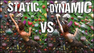 Rock Climbing Technique For Beginners : Static VS Dynamic Styles And Why Both Are Important ! by Mani the Monkey