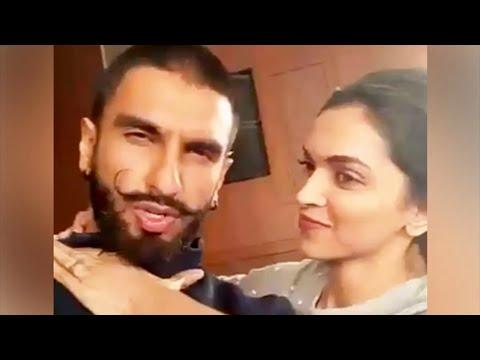 VIDEO Ranveer Singh STOLE Deepika Padukone's SKIRT