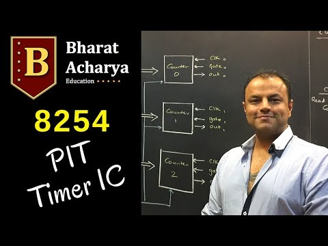 8253/8254 - PIT | Programmable Interval Timer | Bharat Acharya Education