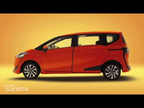 All New Sienta: Product Video from Toyota