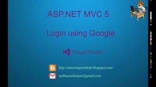 ASP.Net MVC5 - Login using Google - Facebook | SQL Server