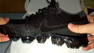 UNBOXING NIKE AIR VAPORMAX TRIPLE BLACK -Best Shoe Of The Year?