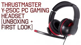 Thrustmaster Y-250C PC Gaming Headset [Unboxing + First Look]