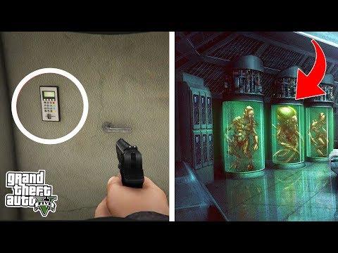 ЧТО НАХОДИТСЯ ЗА СЕКРЕТНОЙ ДВЕРЬЮ В ДОМЕ МАЙКЛА В GTA 5!? | DYADYABOY 🔥 (видео)
