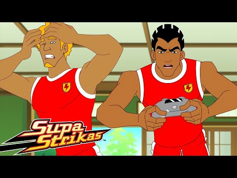 Supa Strikas   Shakes Gaming!   Best Moments   Soccer Cartoons for Kids