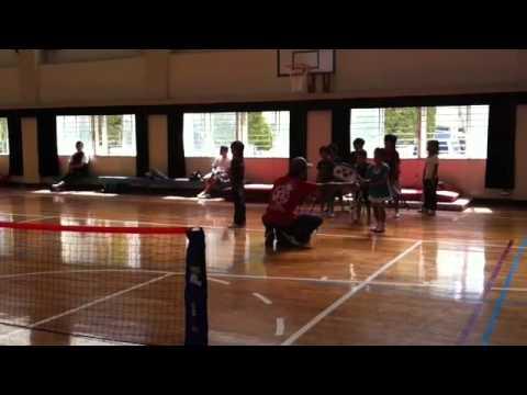 26T-style名島小学校体育館テニス教室