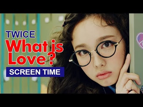 "Video TWICE "" What is Love? "" Screen Time Distribution 各成員MV畫面時間統計 트와이스 download in MP3, 3GP, MP4, WEBM, AVI, FLV January 2017"