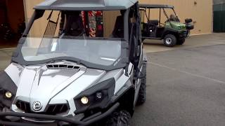 8. 2013 Can-Am Commander 1000 Limited in Magnesium @ Alcoa Good Times