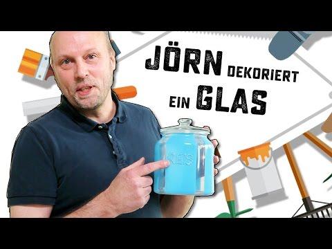 Deko-Tipp: Vorratsglas mit Lackfarbe gestalten