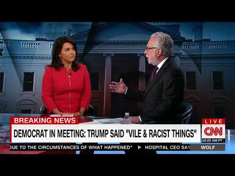 Tulsi Gabbard Speaks with CNN's Wolf Blitzer