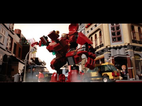 Avengers Age of Ultron Gets Remade in LEGO