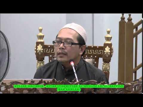 Kuliah Maghrib Sabtu 28 Jamadilakhir 1436 (1.04.2015) oleh Prof. Madya Dr. Haji Ahmad Kilani Mohamed