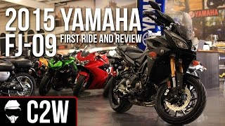 4. 2015 Yamaha FJ-09  -  First Ride and Review  (MT-09 Tracer)