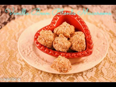 Cooking Tutorial: Vanilla Bean Blonde Macaroons (Raw, Vegan, No Refined Sugars)