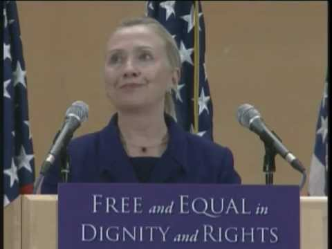 Secretary Clinton Delivers Remarks on International Human Rights Day