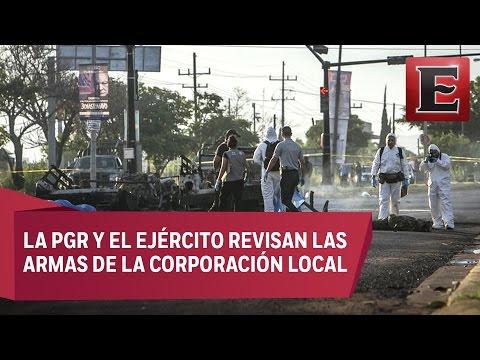 Investigan a policías de Sinaloa por emboscada a militares
