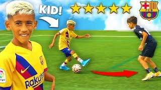 Video I Challenged KID Footballers To a PRO Football Competition (7 YEAR OLD MESSI) MP3, 3GP, MP4, WEBM, AVI, FLV Agustus 2019