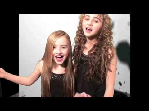 "Sarah And Sabrina Cover Of  ""Potential Break-up Song "" By Aly And AJ"