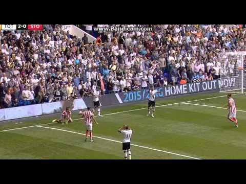 Tottenham 2-2 Stoke City All Goals