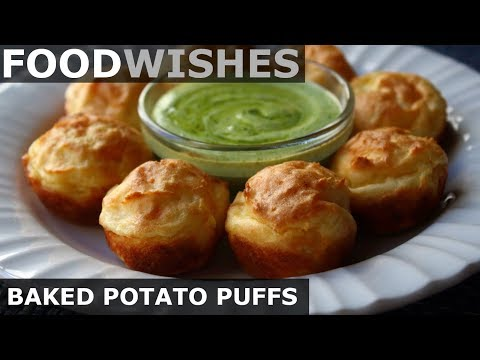 Download Baked Potato Puffs -  Food Wishes HD Mp4 3GP Video and MP3