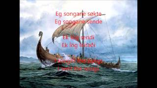 Info on song and some relevant Norse/Viking history below in description Song: Helvegen Artist: Wardruna Sung in Norsk Norwegian but I have added a translati...