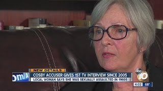 Local Cosby accuser gives first TV interview since 2005 allegations