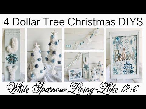 ❄️ 4 HIGH END DOLLAR TREE CHRISTMAS DIYS | EPISODE 3 | FRIEND FRIDAY HOP