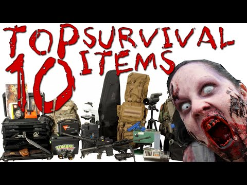 Top 10 Items for the Zombie Apocalypse (Zombie Survival Guide)