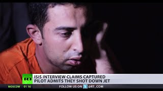 Pilot Captured By ISIS Claims Militants Downed His Jet