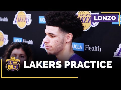 Video: Lonzo Ball Heading Into His First NBA Regular Season Game