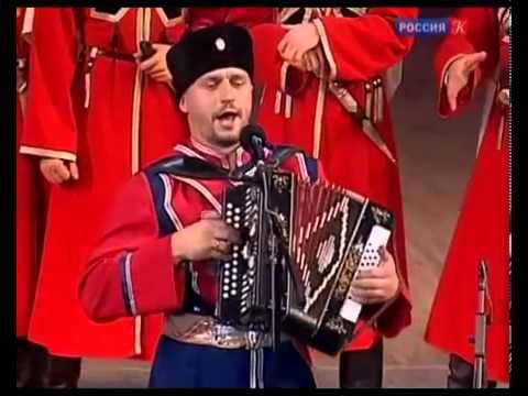 """""""Когда мы были на войне"""" в исполнении казачьего хора, солист Виктор Сорокин"""