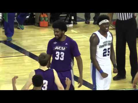 Highlights: Islanders MBB Wins 65-59 Over Abilene Christian