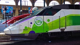 Video TGV Thalys IZY  Paris Nord + LGV MP3, 3GP, MP4, WEBM, AVI, FLV Juli 2017