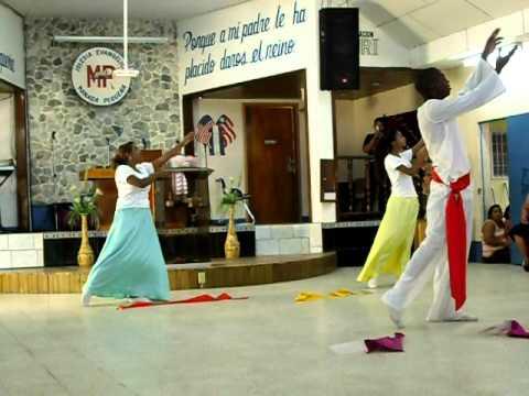 Danza Cristiana Recibe Toda la Gloria.AVI