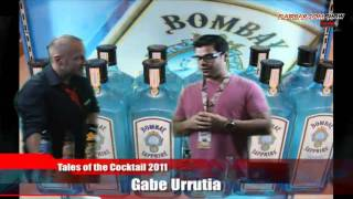 Flairbar.com Show with Gabe Urrutia behind the bar @ Tales of the Cocktail 2011!