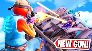 New Tactical Assault Rifle Gameplay in Fortnite: Battle Royale!