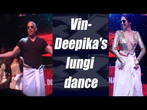 Video Deepika Padukone and Vin Diesel's lungi dance; Watch Video | FilmiBeat download in MP3, 3GP, MP4, WEBM, AVI, FLV January 2017