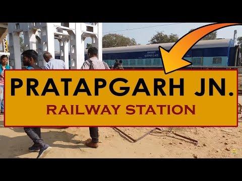 PBH, Pratapgarh Junction railway station, India in 4k ultra HD